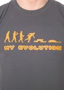náhled - My evolution pánske tričko