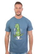 náhled - Rexíkov problém modré pánske tričko