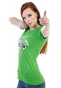 náhled - Shííp zelené dámske tričko