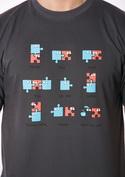 náhled - Puzzlesútra šedé pánske tričko