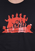 náhled - Punk's Not Dead pánske tričko