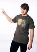 náhled - Winter is Coming zelené pánske tričko