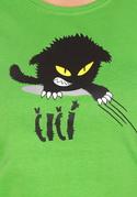 náhled - Čičina limetkové dámske tričko