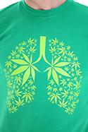 náhled - Ganja pľúca pánske tričko