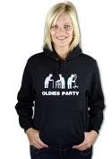náhled - Oldies party dámska mikina