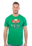 náhled - Červotoč zelené pánske tričko