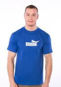 náhled - Coma kráľovsky modré pánske tričko