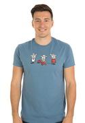náhled - Kolobeh vlny pánske tričko