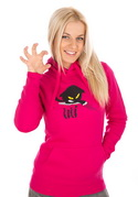 náhled - Čičina fuchsiová dámska mikina