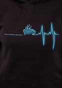 náhled - Coffee help dámska mikina