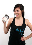 náhled - Coffee help dámske tielko