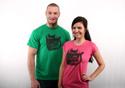 náhled - Povinná četba zelené pánske tričko