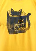 náhled - Povinná četba žlté pánske tričko