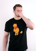 náhled - Ups čierne pánske tričko