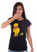 náhled - Ups čierne dámske tričko