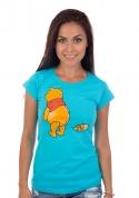 náhled - Ups modré dámske tričko