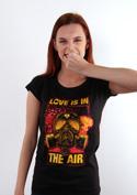 náhled - Love is in the Air dámske tričko