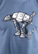 náhled - AT-AT pánske tričko