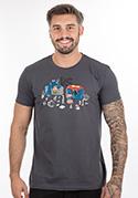 náhled - Súboj superhrdinov pánske tričko
