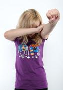 náhľad - Súboj superhrdinov dámske tričko