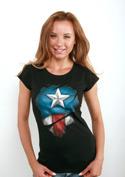 náhled - Captain Inside dámske tričko