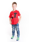 náhled - Vytočený detské tričko