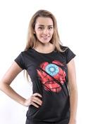 náhled - Ironman čierne dámske tričko