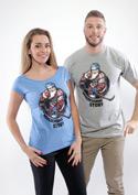 náhled - Jarda Forever šedé pánske tričko