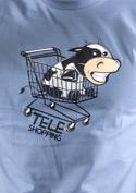 náhled - Teleshopping modré pánske tričko
