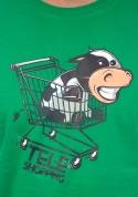 náhled - Teleshopping zelené pánske tričko