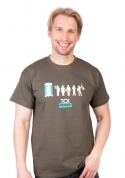 náhled - Toi Story zelené pánske tričko