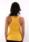 náhled - Vytočený žlté dámske tielko