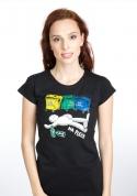 náhled - Tříděný odpad dámske tričko