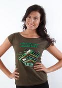 náhled - Uchované v pamäti dámske tričko