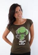 náhled - Zahoď ten stejk dámske tričko