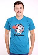 náhled - Chinchilli modré pánske tričko