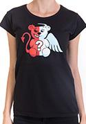 náhled - Anjel vs. diabol klasické dámske tričko