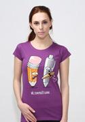 náhled - Používej gumu dámske tričko