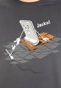náhled - Jacku šedé pánske tričko