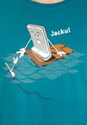 náhled - Jacku modré pánske tričko