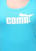 náhled - Coma modré dámske tielko