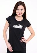 náhľad - Coma čierne dámske tričko klasické