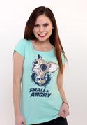 náhled - Čivava zelené dámske tričko