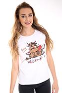 náhled - Hovězí na houbách dámske tričko