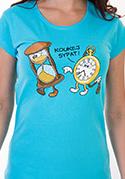 náhled - Tak jde čas dámske tričko