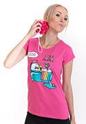 náhled - Ako sa stať jednorožcom dámske tričko