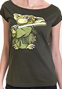 náhled - Yoda v rákosí dámske tričko