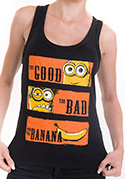 náhled - Hodný zlý a banán dámske tielko