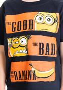 náhled - Hodný zlý a banán detské tričko