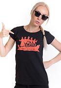 náhled - Punk's Not Dead dámske tričko